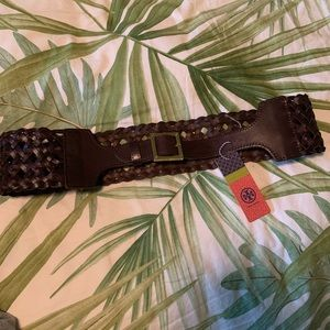 Tory Burch Leather Belt! New with tags!